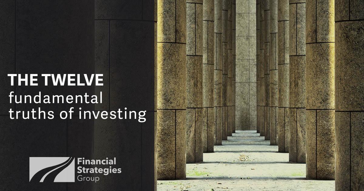 Twelve Fundamental Truths of Investing - pillars in hallway