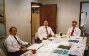 Historical photo of Staff at Financial Strategies Group