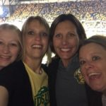 Tawna at Bison game