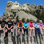 Tawna family at Mount Rushmore